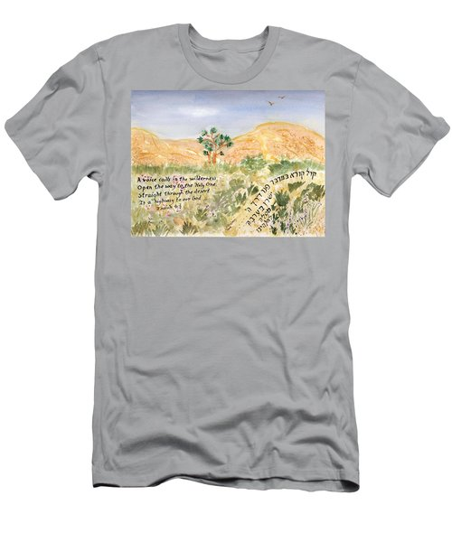 A Voice Calls Men's T-Shirt (Athletic Fit)