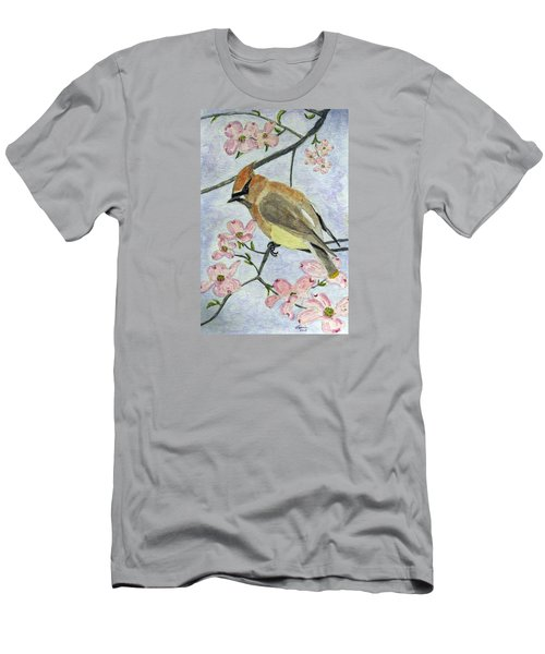 A Waxwing In The Dogwood Men's T-Shirt (Athletic Fit)