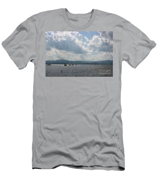 A Weekend On The Water Men's T-Shirt (Athletic Fit)