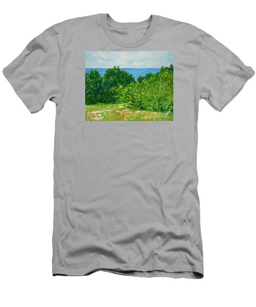 A Winter's Day At The Beach Men's T-Shirt (Athletic Fit)