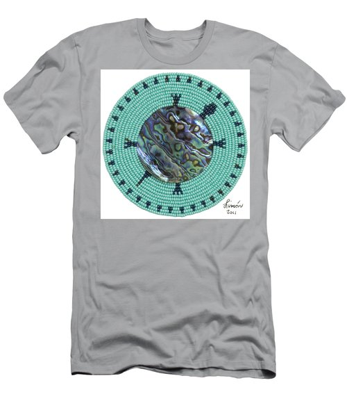 Abalone Shell Men's T-Shirt (Athletic Fit)