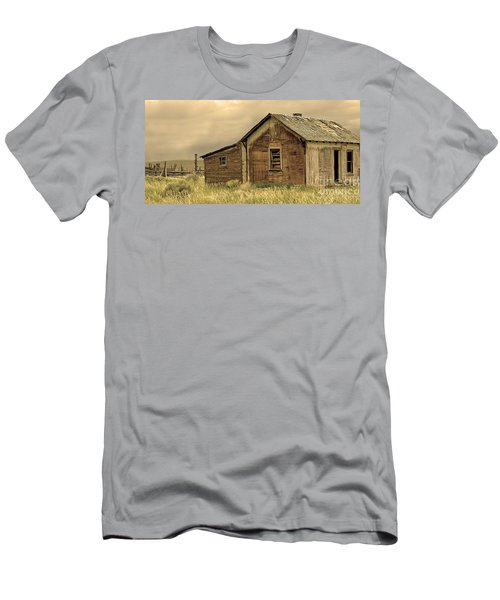 Men's T-Shirt (Slim Fit) featuring the photograph Abandoned by Nick  Boren