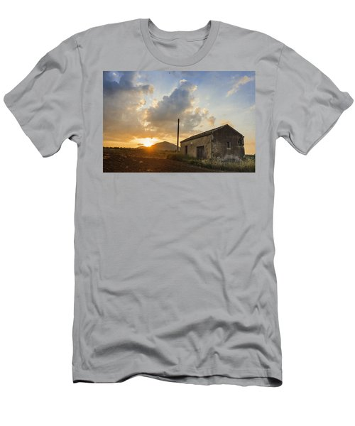 Abandoned Warehouse Men's T-Shirt (Athletic Fit)