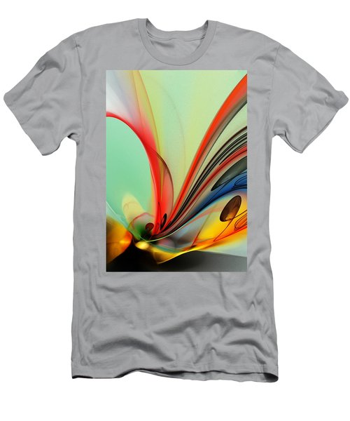 Abstract 040713 Men's T-Shirt (Athletic Fit)