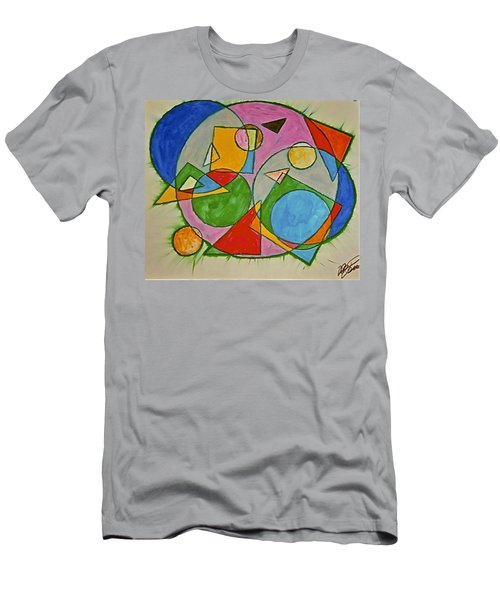 Abstract 89-001 Men's T-Shirt (Athletic Fit)
