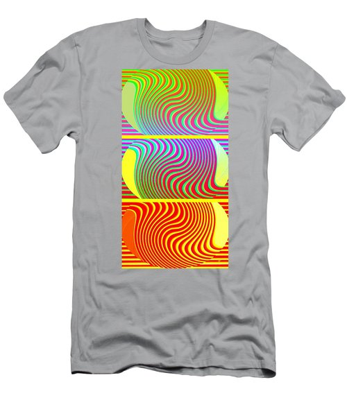 Abstract Fusion 205 Men's T-Shirt (Athletic Fit)