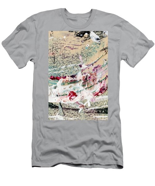 Abstract Original Painting Number Eight Men's T-Shirt (Athletic Fit)