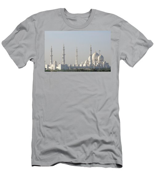 Abu Dhabi Sheikh Zayed Grand Mosque Men's T-Shirt (Athletic Fit)