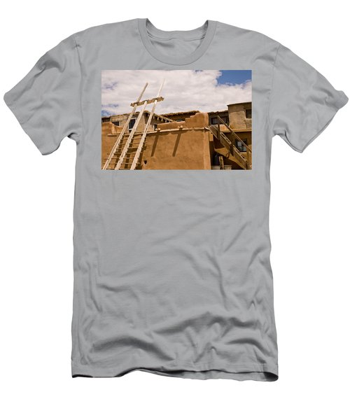 Acoma Building Men's T-Shirt (Athletic Fit)