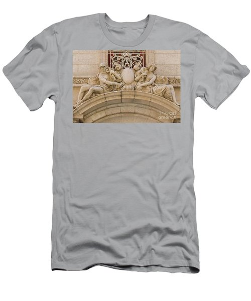 Men's T-Shirt (Slim Fit) featuring the photograph Adolphus Hotel - Dallas #5 by Robert ONeil
