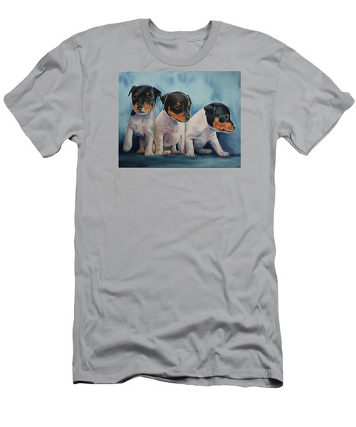 Adorable In Triplicate Men's T-Shirt (Athletic Fit)