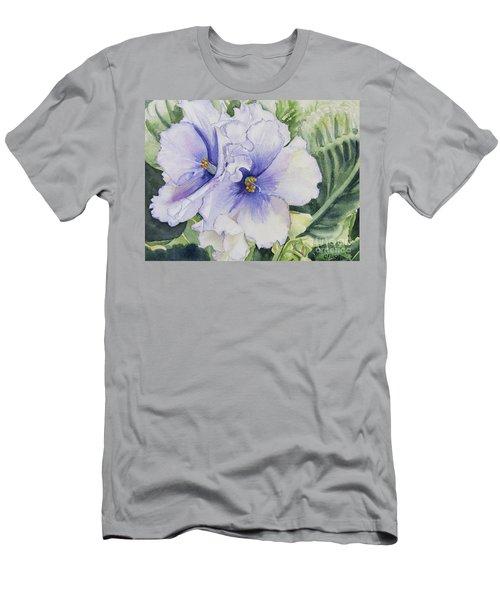 African Violet Men's T-Shirt (Athletic Fit)