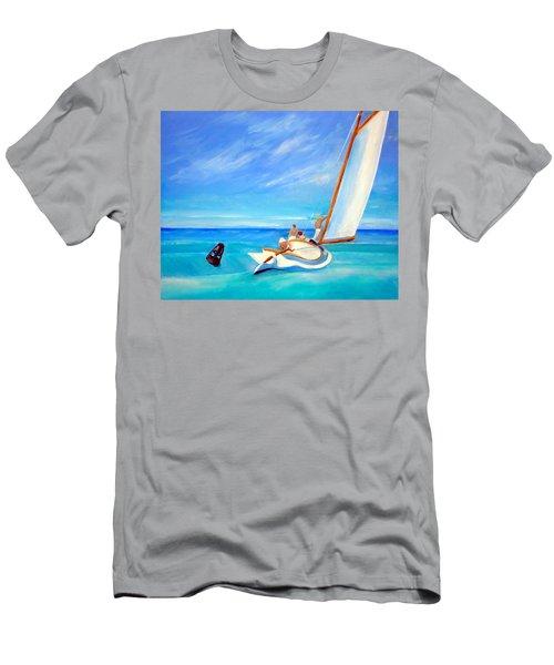 After Hopper- Sailing Men's T-Shirt (Athletic Fit)
