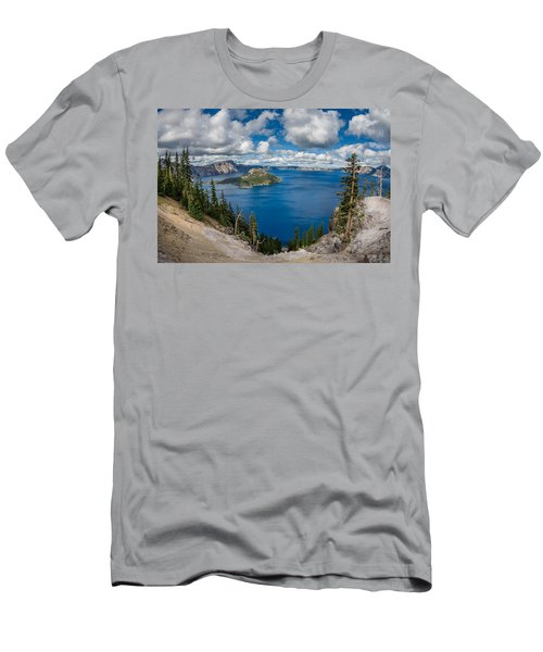 Afternoon At Discovery Point Men's T-Shirt (Athletic Fit)