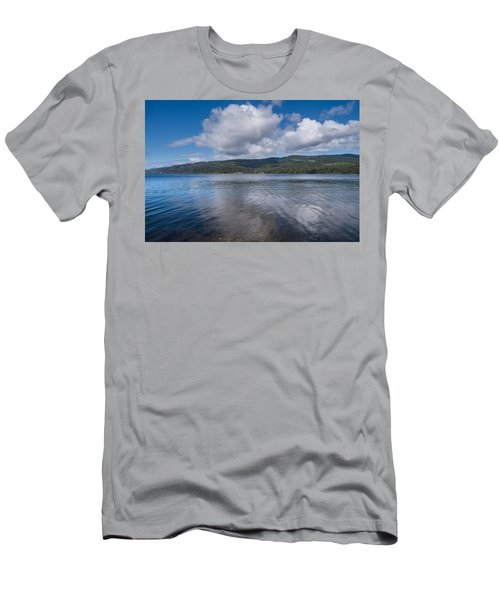 Afternoon Clouds Over Big Lagoon Men's T-Shirt (Athletic Fit)