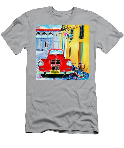 Afternoon In Havana Men's T-Shirt (Athletic Fit)