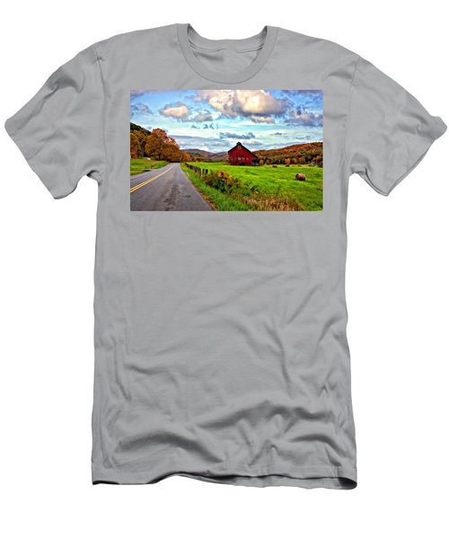 Ah...west Virginia Painted Men's T-Shirt (Athletic Fit)