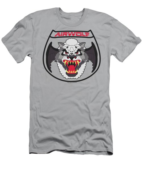 Airwolf - Patch Men's T-Shirt (Athletic Fit)