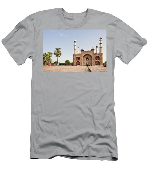 Akbar's Tomb In  India Men's T-Shirt (Athletic Fit)