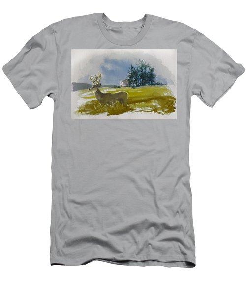Alberta Landscape 9b Men's T-Shirt (Athletic Fit)