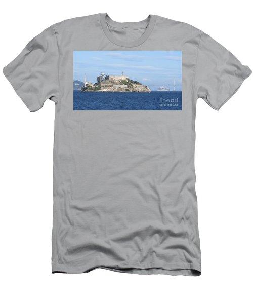Alcatraz Island Men's T-Shirt (Athletic Fit)