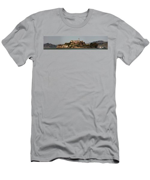 Alcatraz Panorama Men's T-Shirt (Athletic Fit)