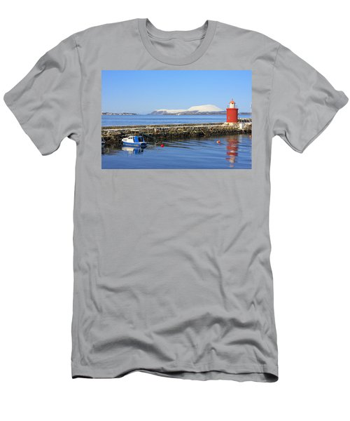 Alesund Lighthouse Men's T-Shirt (Athletic Fit)
