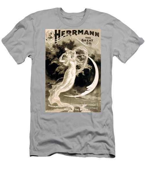 Alexander Herrmann, French Magician Men's T-Shirt (Athletic Fit)