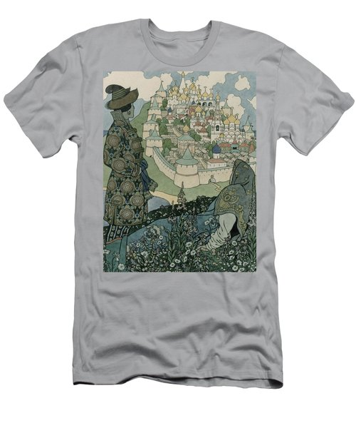Alexander Pushkin's Fairytale Of The Tsar Saltan Men's T-Shirt (Athletic Fit)
