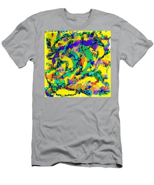 Alien Dna Men's T-Shirt (Athletic Fit)