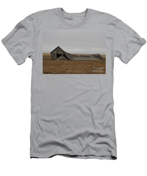 Men's T-Shirt (Athletic Fit) featuring the photograph All That Remains by Ann E Robson