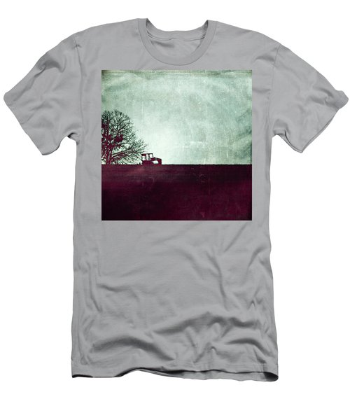 All That's Left Behind Men's T-Shirt (Slim Fit) by Trish Mistric
