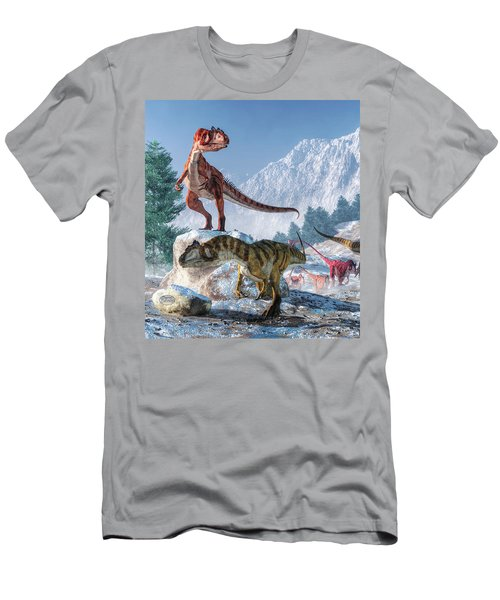 Allosaurus Pack Men's T-Shirt (Athletic Fit)