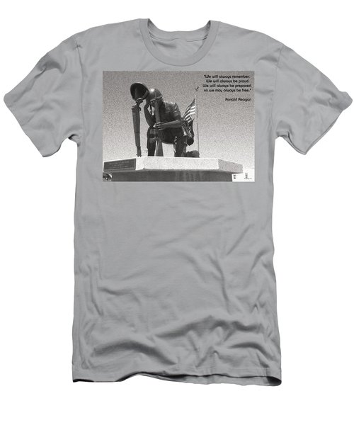 Always Remember Men's T-Shirt (Slim Fit) by Glenn McCarthy Art and Photography
