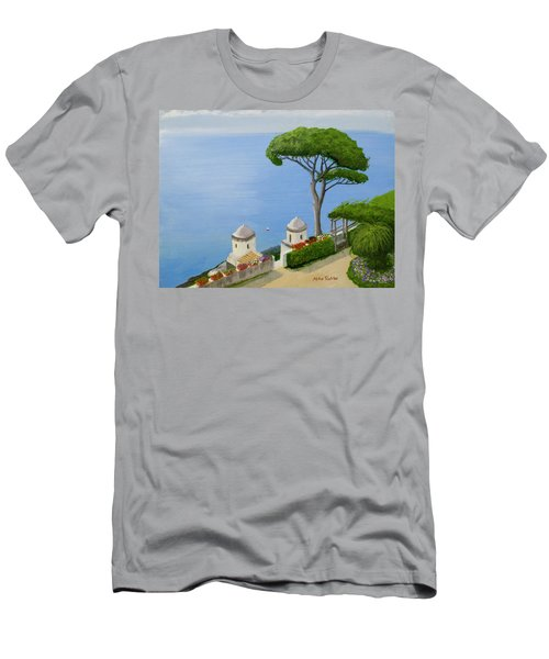 Amalfi Coast From Ravello Men's T-Shirt (Slim Fit) by Mike Robles