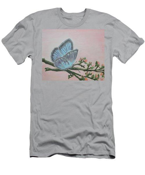 Amandas Blue Dream Men's T-Shirt (Slim Fit) by Felicia Tica