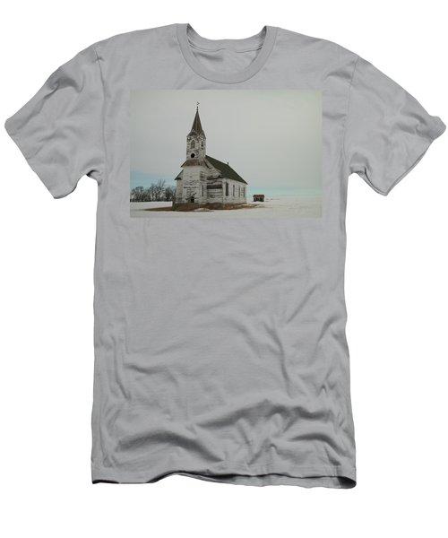 Amazing Grace In North Dakota Men's T-Shirt (Athletic Fit)