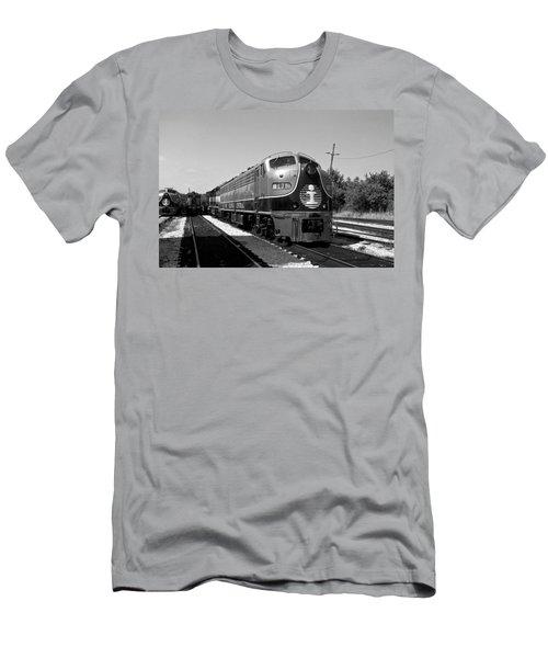 Amazing Trainyard Men's T-Shirt (Athletic Fit)