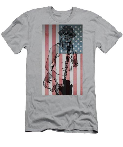 American Badass Men's T-Shirt (Athletic Fit)