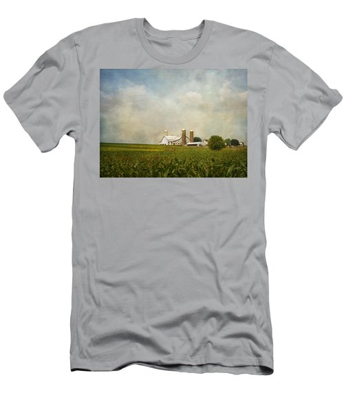 Amish Farmland Men's T-Shirt (Athletic Fit)