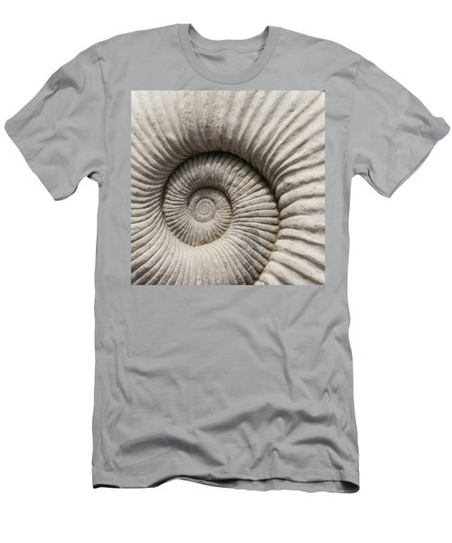 Ammonites Fossil Shell Men's T-Shirt (Athletic Fit)