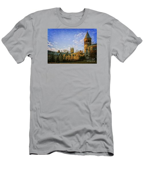 An Afternoon At Princeton Men's T-Shirt (Slim Fit) by Debra Fedchin