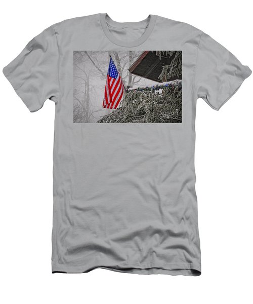 An American Christmas Men's T-Shirt (Athletic Fit)