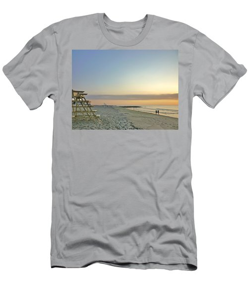An Ordinary Summer Day Begins Men's T-Shirt (Slim Fit)