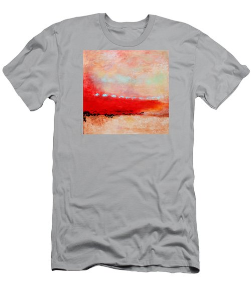 Men's T-Shirt (Slim Fit) featuring the painting Ancient Dreams by M Diane Bonaparte