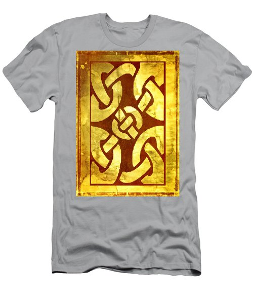Ancient Ornamental Celtic Design Men's T-Shirt (Athletic Fit)