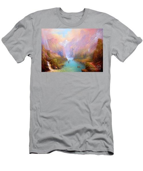 Anduin The Great River Men's T-Shirt (Slim Fit) by Joe  Gilronan