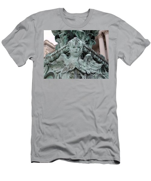 Men's T-Shirt (Slim Fit) featuring the photograph Angel Wings by Ed Weidman
