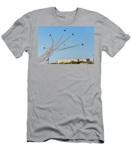 Angels Over Alcatraz Men's T-Shirt (Athletic Fit)