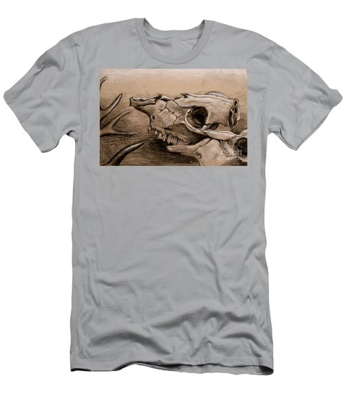 Animal Bones Men's T-Shirt (Athletic Fit)